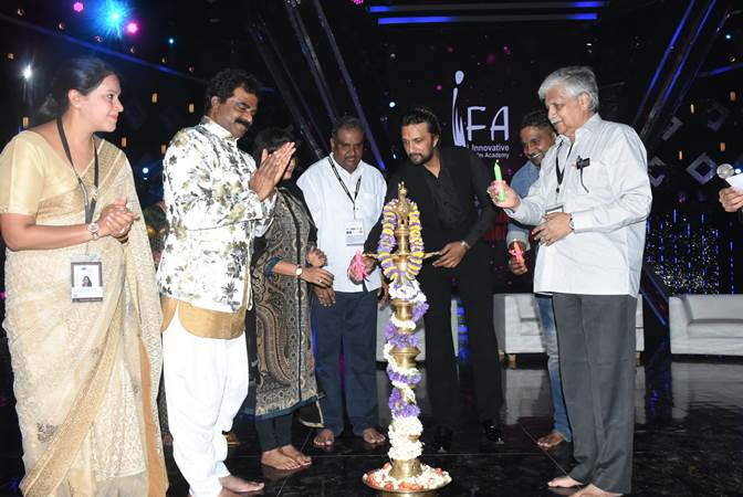 Kiccha Sudeep inaugurates Innovative International Film Festival in